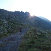 Salita all'Alpe di Fortünéi