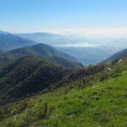 Panorama dal Monte Palanzone