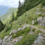 Sul sentiero per Chièra