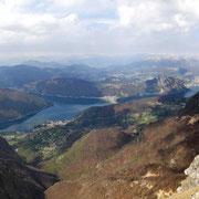 Panoramica dal Monte Generoso 1701 m