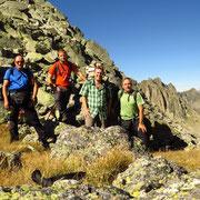 Passo a 2537 m il punto più alto della gita odierna