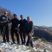 Monte Borgna 1157 m con Steve e Giorgio