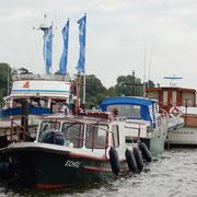 Im Schleswiger Stadthafen.