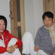 Kin'Kou Shiatsu Kehl Strasbourg: Hiroshi Iwaoka et sa femme Kikuno