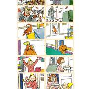 Illustraties voor taalmethode voor Marmberg uitgevers, groep 4