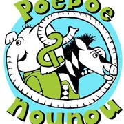 logo voor kinderboek Poepoe en Nounou