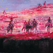 Riders 160x200 cm Oil/Canvas 2006