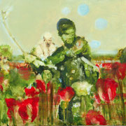 Poppies 60x120 cm Oil/Canvas 2006