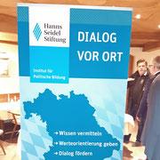 Mobilität der Zukunft: Die Hanns-Seidl-Stiftung hat zum Dialog geladen