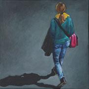 o.T., From Above 5 (2014, Acryl auf Leinwand, 30x30 cm)