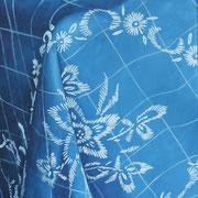 Bleue (2019, Acryl auf Leinwand, 30x40 cm)