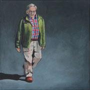 o.T., From Above 3 (2014, Acryl auf Leinwand, 30x30 cm)