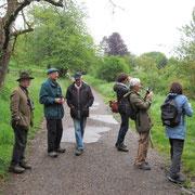 Vogelbeobachter trotzen dem Regen - I.Pedal