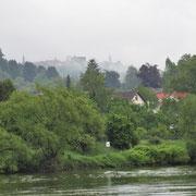 Der Dilsberg vom Neckarlauer aus - I.Pedal