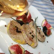 Foie gras à la Grange du Coulin, chambres d'hôtes Gîtes de France Landes à Onesse et Laharie