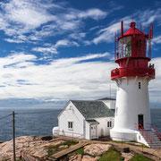 Lindesnes Leuchtturm in Südnorwegen