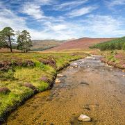 Linn of Dee im Cairngorms Nationalpark, Schottland
