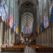 Das Schiff der Kathedrale von Orléans