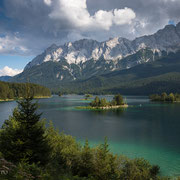 Eibsee und Wettersteingebirge