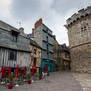 Altstadt von Vitré, Bretagne