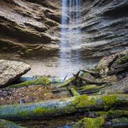 Wasserfall in der Pähler Schlucht