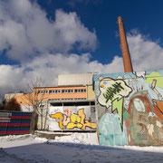 Werksgelände im Münchner Osten