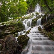 Bad Uracher Wasserfall im Frühjahr