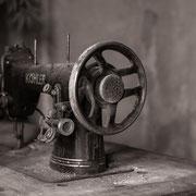 Nähmaschine außer Betrieb