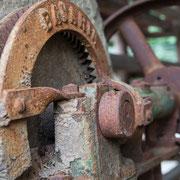Maschinenrelikte aus einer alten Ziegelei 1