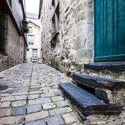 Gasse in Vitré, Bretagne