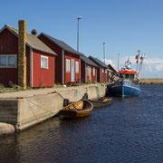 Kleiner Fischerhafen auf Öland