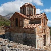 Typische Kapelle auf dem Peloponnes
