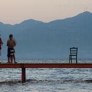 Abendrot auf dem Peloponnes