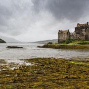 Castle Eilean Donan in den schottischen Highlands