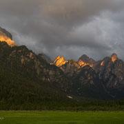 Lichtimpressionen in den Dolomiten