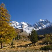 Rosegtal und Bernina-Massiv, Engadin, Graubünden, Schweiz