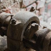 Maschinenrelikte aus einer alten Ziegelei 4