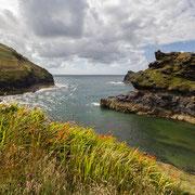 Küste von Cornwall, Südwestengland