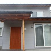 高断熱木製玄関ドア