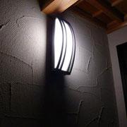 塗壁外壁とエントランス