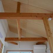 開放的な勾配天井