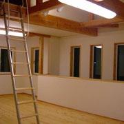 ロフト併設の2階ホール