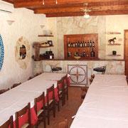 Sala ristoro di del nostro b&b