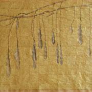 Samen, 2009 Mischtechnik auf Papier