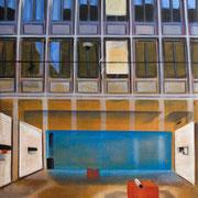 DaZwischen 16 Zürich-Galerie, 2019 Acryl auf Leinwand
