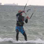 kiting in Tarifa
