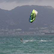 Naish kiteboarding in tarifa