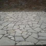 Neuanlage Terrasse