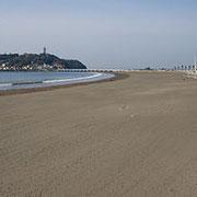 整備されたクリーンな海岸