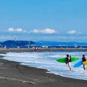 サーフポイント多数の藤沢エリア いつもどこかで波が立っています